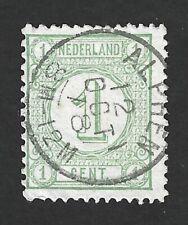 Nederland 1876 NVPH 31C met kleinrond (tweeletter) stempel ALPHEN 12 OCT 78