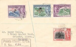 DOMINICA - MAIL 1951 NEW CONSTITUTION
