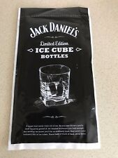 JACK DANIELS OLD NO7 LTD EDITION  ICE CUBES BAGS FROM 2014