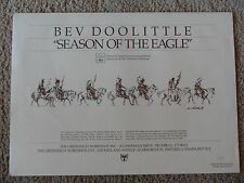 "Bev Doolittle ""SEASON OF THE EAGLE"" *PRINT FOLDER ONLY* from Greenwich Workshop"