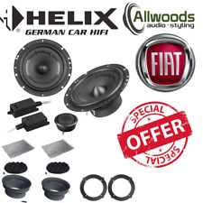"HELIX F 62C 6.5"" 16.5cm 2 way component car speakers for Fiat Grande Punto"