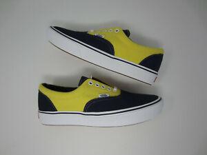 NEW Vans Comfycush Era VN0A3WM9VNO suede canvas Dress Blue men's shoe sneaker