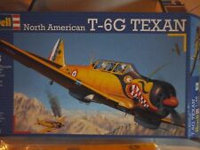 T6G NORTH AMERICAN TEXAN 1/48 SCALE REVELL MODEL