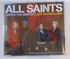 ALL SAINTS ~ Under The Bridge / Lady Marmalade ~ CD SINGLE ENHANCED