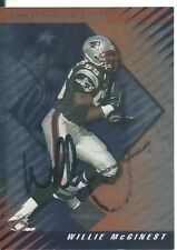 Willie McGinest New England Patriots/ USC Trojans   Personally Autographed Card