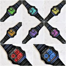 Casio Heavy Duty Iluminador Reloj con Pantalla Color Mod - 8 Colores Diferentes