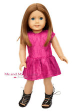 Berry Girl Lace Dress for 18 inch American Doll clothes
