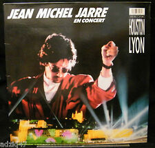 33 T  VINYL JEAN MICHEL JARRE EN CONCERT HOUSTON LYON