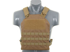 Simple Plate Carrier with Dummy Soft Armor Inserts   tactico AIRSOFT AEG