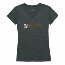 Buffalo State College Bengals Womens Institutional Tee T-Shirt Heather Charcoal