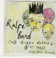 (FJ559) Ralfe Band, Cold Chicago Morning - 2013 DJ CD