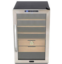 Whynter Stainless Steel 2.5 cu.ft. Cigar Cooler Humidor, NEW