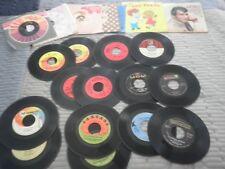 20 Vintage 45's Record Pop Artist Lot:Beach Boys, Doors, CCR, Roy Orbison, Byrds