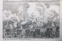 Toulon en 1793 Siège de Toulon Var rare gravure époque révolution française