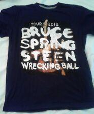 Bruce Springsteen  Wrecking Ball 2012 Tour Concert T-Shirt  MEDIUM,