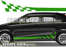 MG side flag graphics 006 stripes stickers decals vinyl
