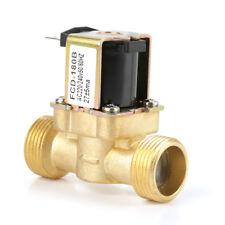 Elektrisches Magnetventil G3/4 2-Wege Messing N/C normal geschlossen