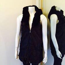 Faux Fur Machine Washable Vests for Women