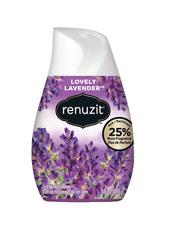 Renuzit Sensitive Scents Gel Air Freshner Lovely Lavender 7.0 oz