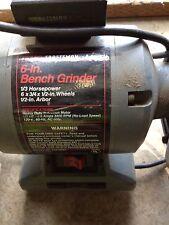 Dayton Bench Grinder, I 115/230V, 1/2 Hp, 6 in. dia.