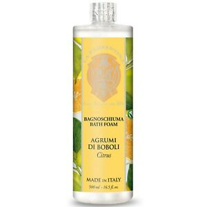 La Florentina Citrus Bath Foam 500ml with Olive Oil