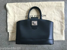 Stunning Louis Vuitton Mirabeau PM black epi leather bag purse