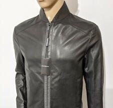 BNWT Emporio Armani Pure Nappa Leather Biker Jacket Slim Mr Porter 40R RRP £890