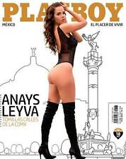 PLAYBOY MEXICO ANAYS LEYVA JUNIO JUNE 2017 PLAYBOY MEXICAN EDITION NEW