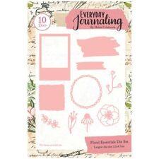 Everyday Journaling Die Set Floral Essentials Set of 10 | Journal Essentials
