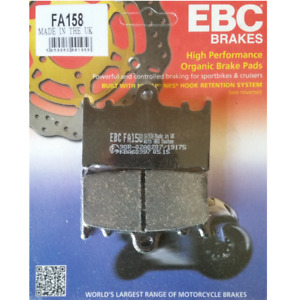 EBC Organic Brake Pads Kawasaki VN1700 Vulcan Classic, ZR1100A