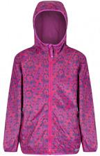 Regatta Printed Lever childs boys girls packaway waterproof breathable jacket