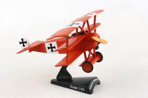 Postage Stamp 5349 Fokker Dr.I 'Red Baron' 1/63 Scale Diecast Model