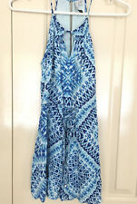 Forever New Jumpsuit, Playsuit, Summer Clothing Size 6, Party, Blue As New