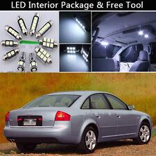 17PCS Canbus LED Interior Lights Package kit Fit 1998-2004 Audi A6 C5 SEDAN J1