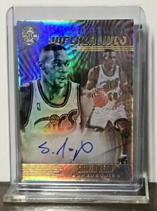 2019-20 SHAWN KEMP PANINI ILLUSIONS SUPERLATIVES REFRACTOR AUTO #SS-SKP SONICS