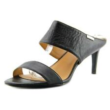 Sandalias y chanclas de mujer Calvin Klein de tacón medio (2,5-7,5 cm) de color principal negro