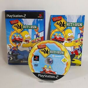 The Simpsons Hit & Run PS2 Sony Playstation 2 Game PAL UK Complete