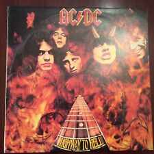 AC/DC Highway To Hell 1979 Albert #APLP040 Australian Import First Pressing Rare