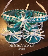 handmade baby shoes & hair accessories