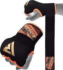 RDX Boksbandage Hand Wraps Binnenste Handschoenen MMA Fitness Oranje M NL