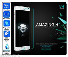 Genuine 100% TEMPERED GLASS Invisible Screen Protector For Samsung Galaxy Note 4