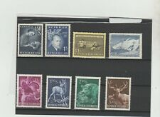 Austria  Selection of 1950's issues,  Mint Condition