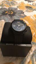 Men Marc Jacobs Hybrid Black Watch New