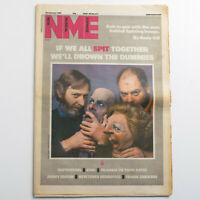 NME magazine 26 January 1985 Spitting Image cover Frankie Goes to Hollywood