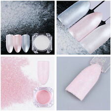 2Boxes Nail Glitter Powder Pearl Nail Art Pigment Dust Decor BORN PRETTY Tips