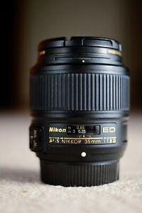 Nikon AF-S NIKKOR 35mm f/1.8G ED Lens - Beautiful.