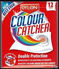 Dylon Colour Catcher 12 Sheets Prevents Colour Run Accidents