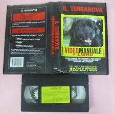 VHS film IL TERRANOVA videomanuale 1993 DVE 39 minuti cane (F74) no dvd