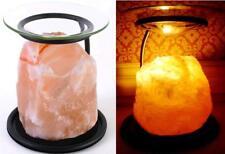 Himalayan Natural Salt Oil Lamp Burner/Yankee Candle Tart Warmer/Tealight Holder