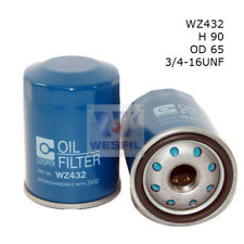 WESFIL OIL FILTER FOR Toyota Corolla 1.8L 2003-2005 WZ432